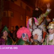 Imagenes de la Cabalgata de las Borriquitas de Quiebracarretas 2020