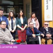 Justicia garantiza la accesibilidad de los juzgados de Lucena