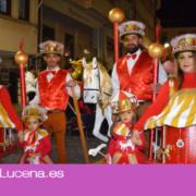Imágenes del Pasacalles de Lucena a ritmo de Carnaval