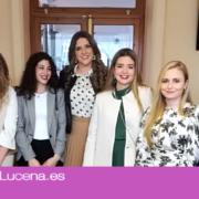Designada Mª Araceli Zamorano Cantero Aracelitana Mayor, y su corte de honor 2020
