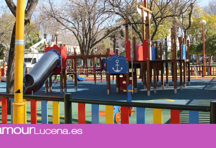 INFO: Se remodela el Parque Infantil del Paseo de Rojas