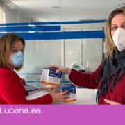 El Ayuntamiento de Lucena reparte 4.500 mascarillas en la ciudad