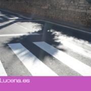 El Ayuntamiento de Lucena invierte más de 50.000 euros en la mejora de la seguridad vial