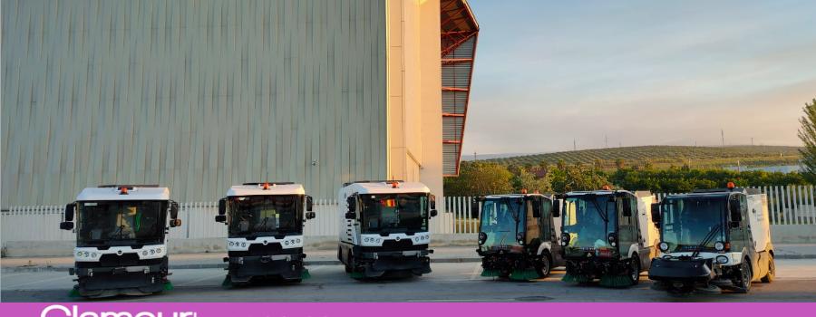 Dos nuevas barredoras se incorporan al servicio de limpieza de calles y plazas
