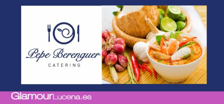 El Catering Pepe Berenguer ofrece menús a domicilio para particulares que vivan solos y colectividades