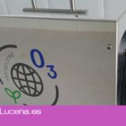 El Ayuntamiento de Lucena adquiere dos máquinas de ozono para la higienización de edificios y vehículos municipales