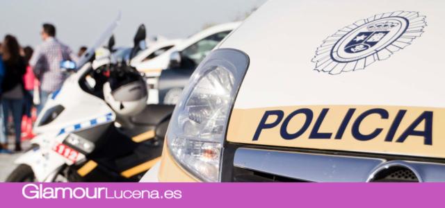 Policía Local de Lucena participa en el rescate de un tractorista accidentado