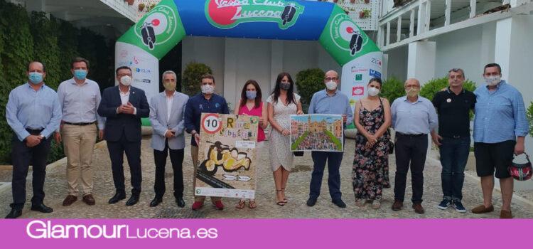 Se presenta la 10ª Ruta Subbética en Vespa