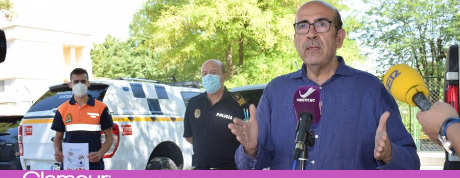 Seguridad Ciudadana hace hincapié en seguir las directrices sanitarias especialmente entre los jóvenes