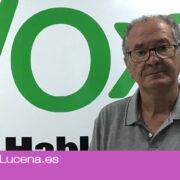 Vox Lucena presentará una moción para pedir la salida de la Federación Española de Municipios y Provincias
