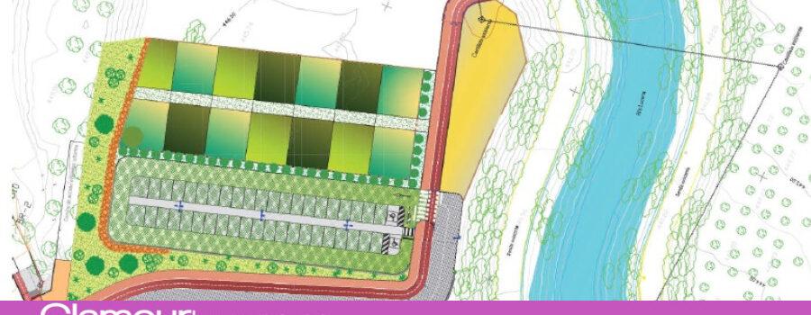 Adjudicadas las obras de la pasarela sobre el río Lucena y el aparcamiento del futuro Parque Europa