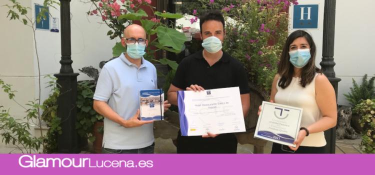 Una veintena de empresas y entidades reciben el distintivo a la calidad en el destino turístico SICTED Lucena