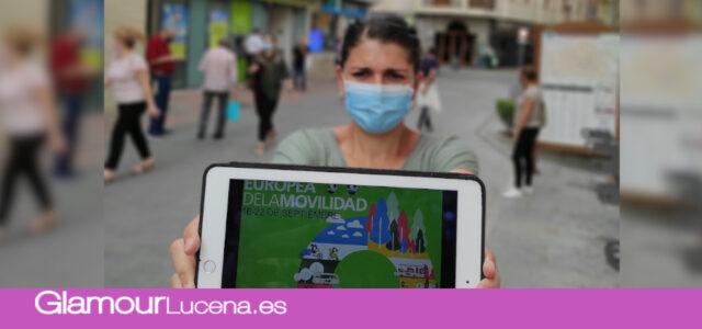 Lucena se adhiere a la Semana Europea por la Movilidad con campañas de concienciación en redes y radio