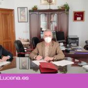 Renovado el convenio de colaboración entre Ayuntamiento y la asociación Despertar Lucena