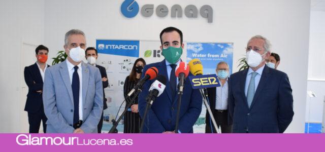 Keyter Intarcon Genaq crearán 200 puestos de trabajo con una nueva fábrica en Lucena