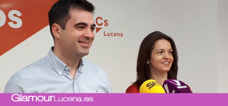 Ciudadanos Lucena lanzará bonos de 10,15 y 20 Euros para propiciar el consumo en la ciudad