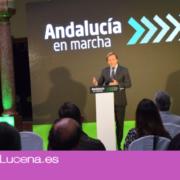 Se presenta  «En Marcha Andalucía» ante empresarios y autoridades que invertirá 10,3 Millones en Lucena
