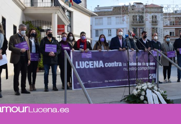 Se celebran los actos centrales del 25N contra la Violencia de Género