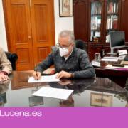 El Ayuntamiento renueva el convenio de colaboración con la Asociación de Minusválidos Frasquito Espada