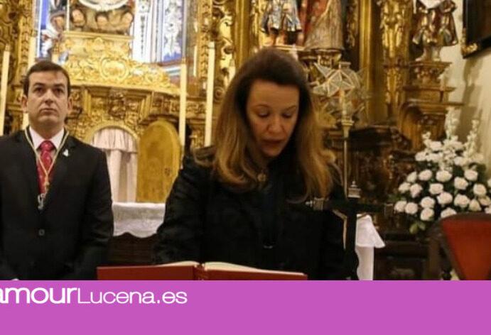 Doña Magdalena Rueda designada Premio Cofrade Manolo Ramírez