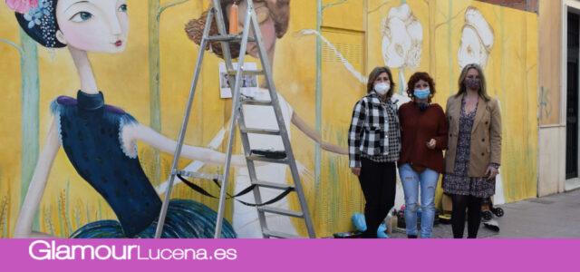 Se presentan las actividades en torno al 25N y un mural conmemorativo