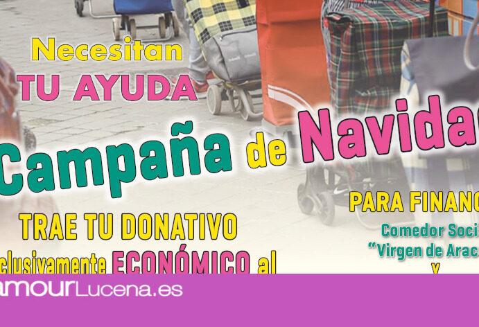 Comienza la campaña solidaria para el Comedor Social «Virgen de Araceli» organizada por el Centro «Juan Pablo II»