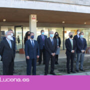 El consejero de trasformación tecnológica visita las empresas del Frio Industrial de Lucena