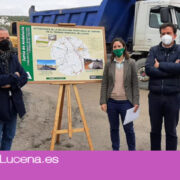 La Junta realiza obras de seguridad vial en cinco carreteras de Lucena con una inversión de más de 311.000 euros