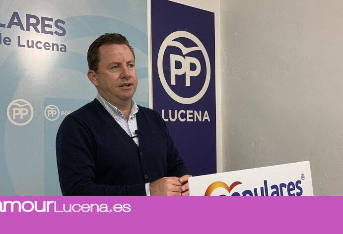 El Partido Popular de Lucena agradece la inclusión de sus emniendas para los presupuestos municipales 2021