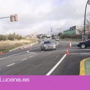 La Junta invierte más de 47.000 euros en asfaltar la travesía de Lucena en la A-318