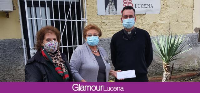 Mujeres en Igualdad recaudan 1.100 € para el Comedor Social Ntra Sra de Araceli