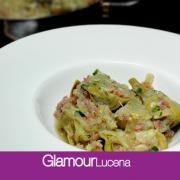 RECETA A 4 MANOS: Alcachofas en salsa con jamón