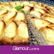 RECETA A 4 MANOS: Tarta-Bizcocho de manzana al horno