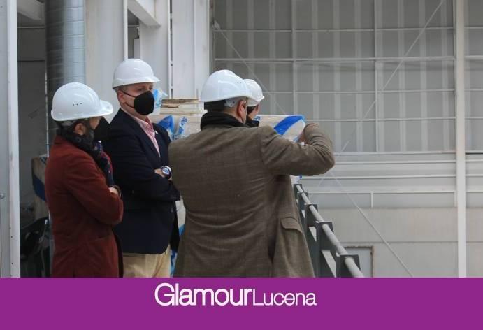 Concluyen las Obras del Pabellón 1 en la Barriada Dehesa de la Villa