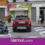 Lucena habilita la reserva de espacio nominativa para el estacionamiento de vehículos para personas con discapacidad
