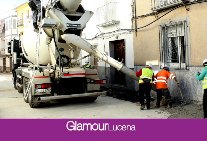 El Ayuntamiento de Lucena amplía la reurbanización de la calle Álamos hasta la calle Peñuelas