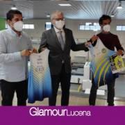 Mensaje de apoyo del Ayuntamiento de Lucena al CD Surco en el inicio de la División de Honor