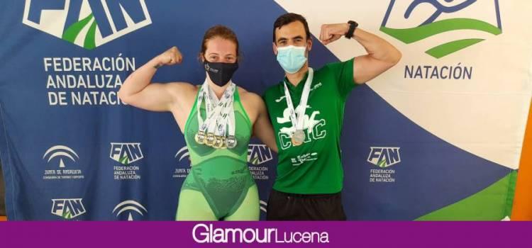 Elia Cuenca y Cristian Gómez consiguen medallas de Oro y Plata respectivamente en Natación