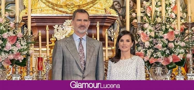 El Rey Felipe acepta ser Hermano Mayor Honorario de la Hermandad del Rocio de Lucena y la Reina Leticia Camarera de Honor