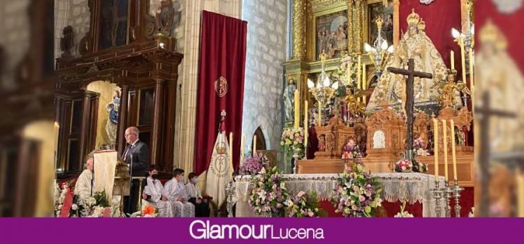La misa solemne reúne a los devotos aracelitanos ante la ausencia de procesión