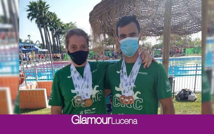 Buenos resultados para Elia Cuenca y Cristian Gómez en el XXVI Campeonato Open Master de Verano Andalucía