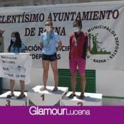 Oro, Plata y Bronce para el Equipo del Club Natación Lucena en el XLVI TROFEO MELCHOR CASTRO de Baena
