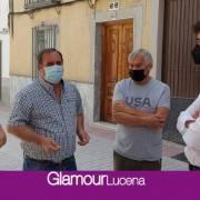 """Ciudadanos Lucena califica de """"chapuza"""" el arreglo que el equipo de Gobierno ha ofrecido a los vecinos de la calle Álamos"""