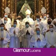 El Arzobispo de Burgos visita a María Santísima de Araceli