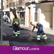 El Plan de Asfalto 2021 comienza asfaltando la Calle el Peso y Juan Jiménez Cuenca