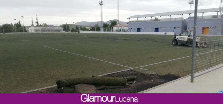 Comienza la sustitución del césped artificial del campo número 2 de la Ciudad Deportiva