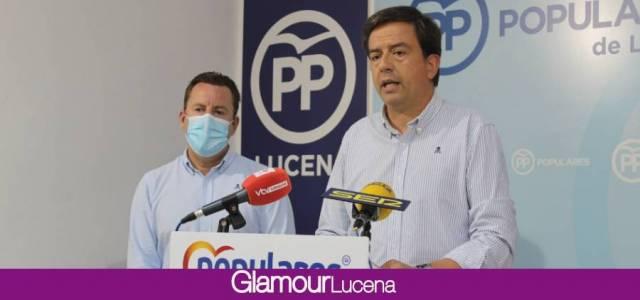 Los Populares de Lucena propondrán una comisión de investigación sobre la Feria del Valle