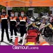 Protección Civil Lucena amplía  el material dotacional de la agrupación
