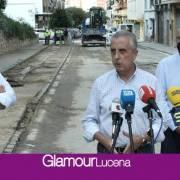 """Juan Pérez, """"de arriba a abajo para que la limpieza sea lo efectiva y ordenada posible"""" en Lucena"""